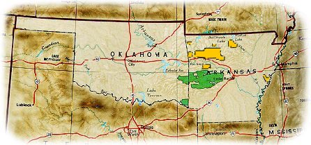The Ouachita National Forest in Arkansas and Oklahoma - a scenic and ...